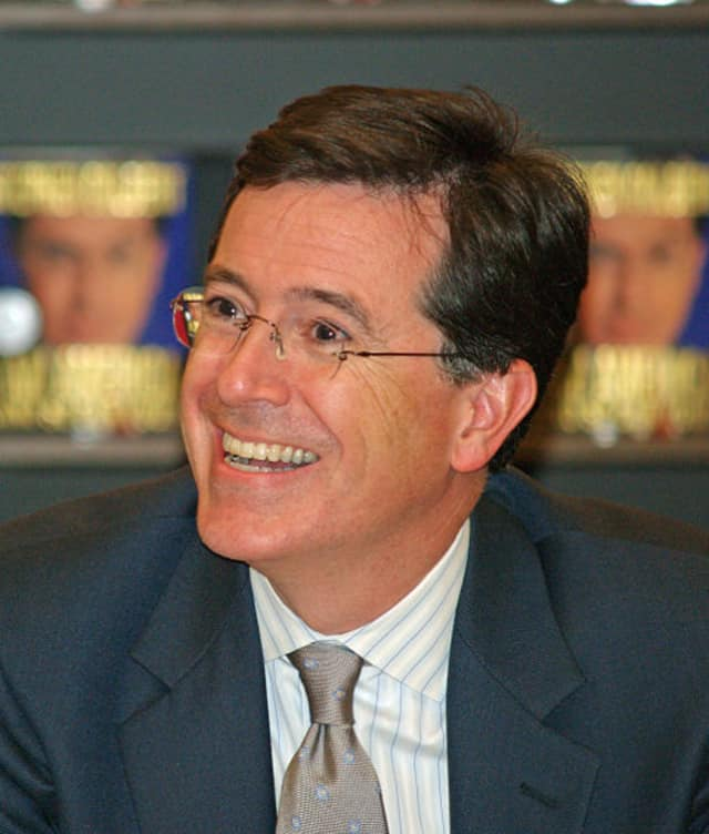 "Comedy Central's Stephen Colbert has been named to replace David Letterman as the host of ""The Late Show."""