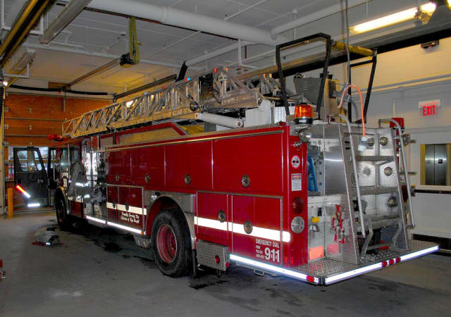 The Greenwich Fire Department dispatched multiple units to a house fire in rural Greenwich on Thursday, April 10.