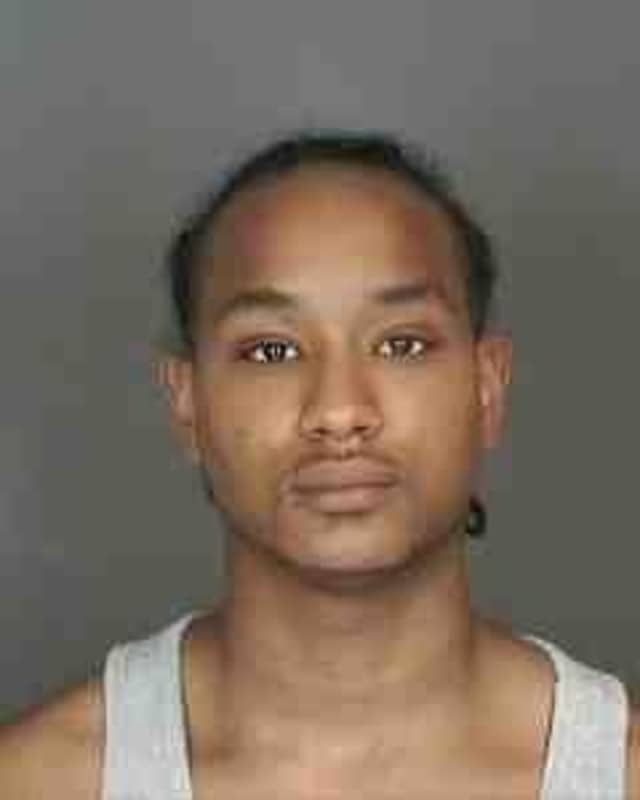State Police are searching for Isaac L. Bruff of Peekskill after he allegedly fled the scene of a traffic stop and injured a State Trooper.