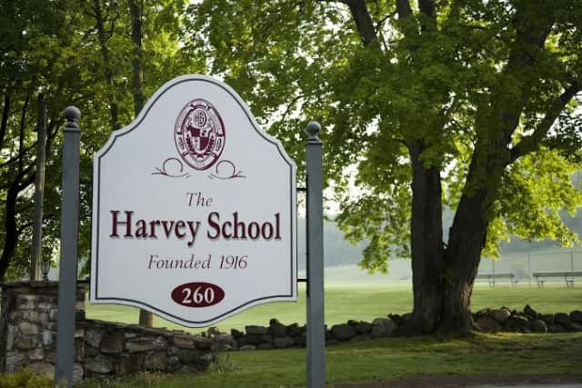 The Harvey School's boys tennis team defeated Storm King on Saturday, April 12.