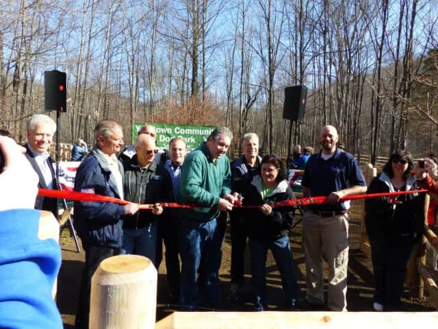 The Yorktown Dog Park celebrates its grand opening on Saturday.