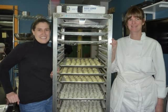 Pastry chef Mary O'Brien, of Wilton, and longtime friend Joy Gifford, of Norwalk, are the co-owners of Heavenly Bites