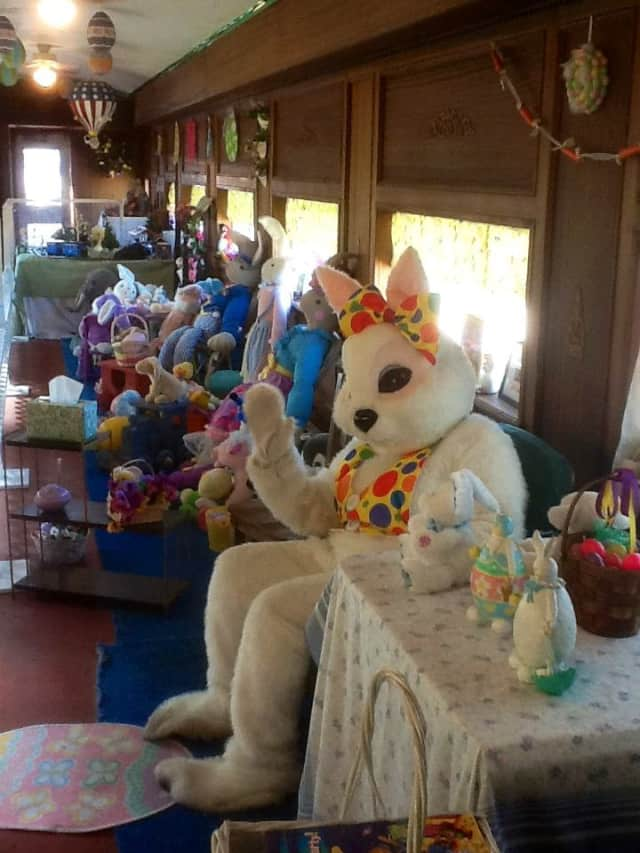 The Danbury Railway Museum is hosting special Easter Bunny train rides.