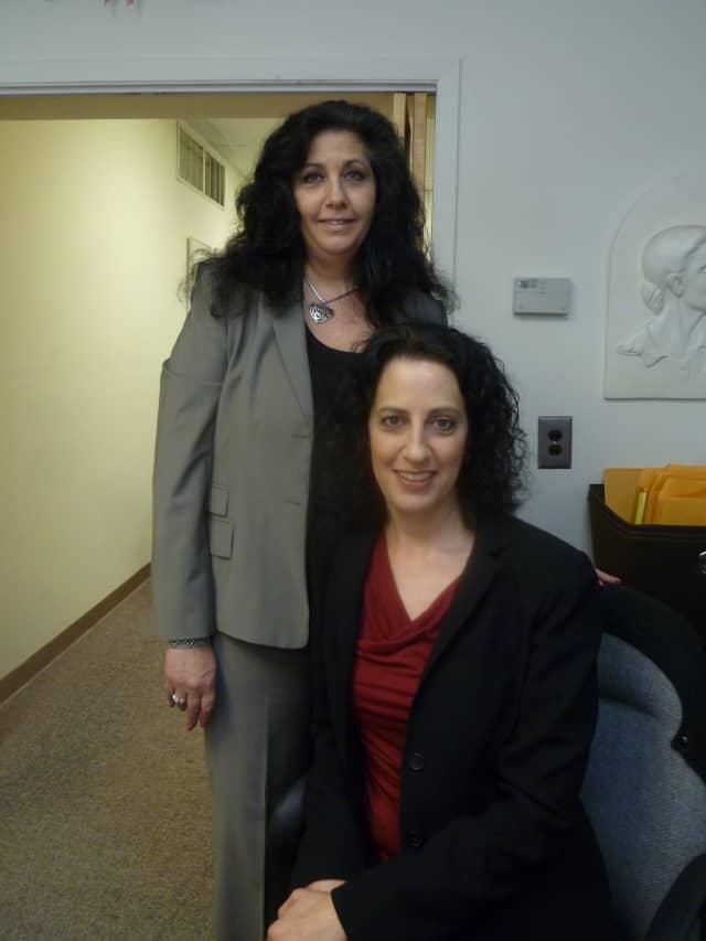 Accounts Mary Felenczak, left, and Deena Grabowski of Grabowski Associates, Inc, in Hastings suggest using a professional to prepare tax returns.