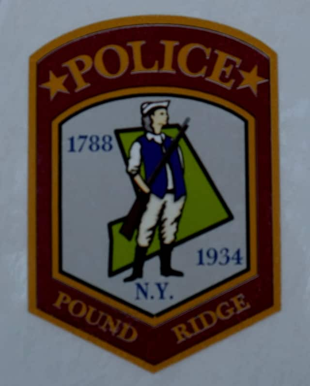 The Pound Ridge Police Department is at 177 Westchester Ave.