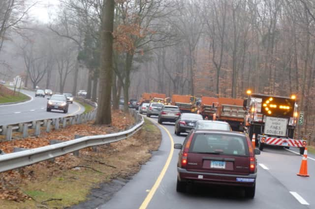DOT is planning to make safety improvements on four sharp curves on the Merritt Parkway in Greenwich.
