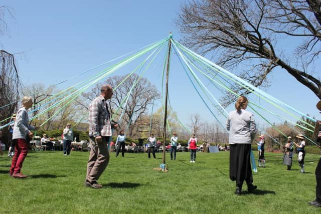 A traditional maypole dance will be one of the attractions at Andrus on Hudson's Spring Fest.