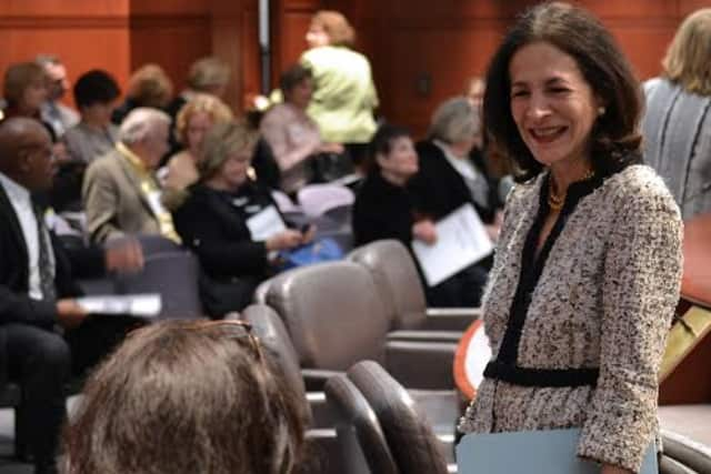 State Rep. Gail Lavielle recently met with a group of Realtors at the State Capitol.