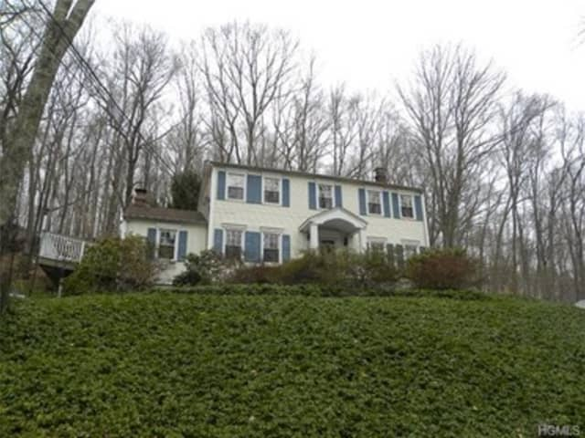 This house at 57 Upper Shad Road in Pound Ridge is open for viewing on Saturday.