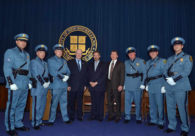 The New Rochelle Police Department released its annual report to the public on Wednesday.