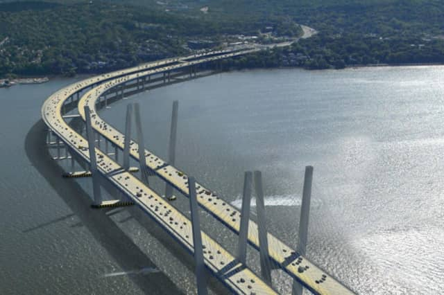 The Coast Guard is urging additional caution to boaters around the Tappan Zee bridge as construction continues.