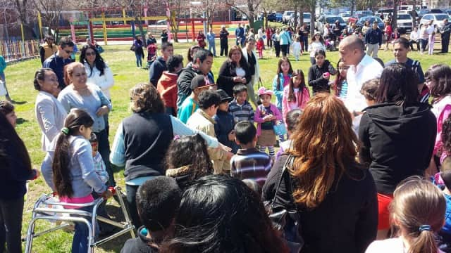 A previous Easter celebration in Norwalk hosted by Latinos Unidos de Connecticut. This year an Easter Egg Hunt will be held Sunday, March 27 at the South Norwalk Community Center.