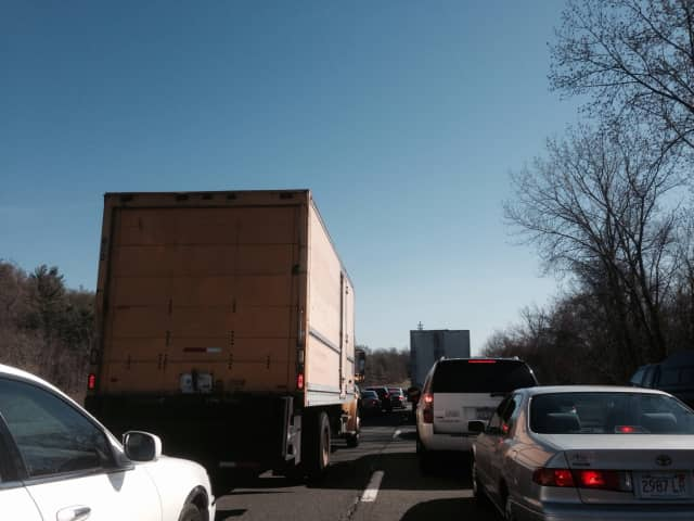 Separate accidents were reported late Friday morning in Northern Westchester.