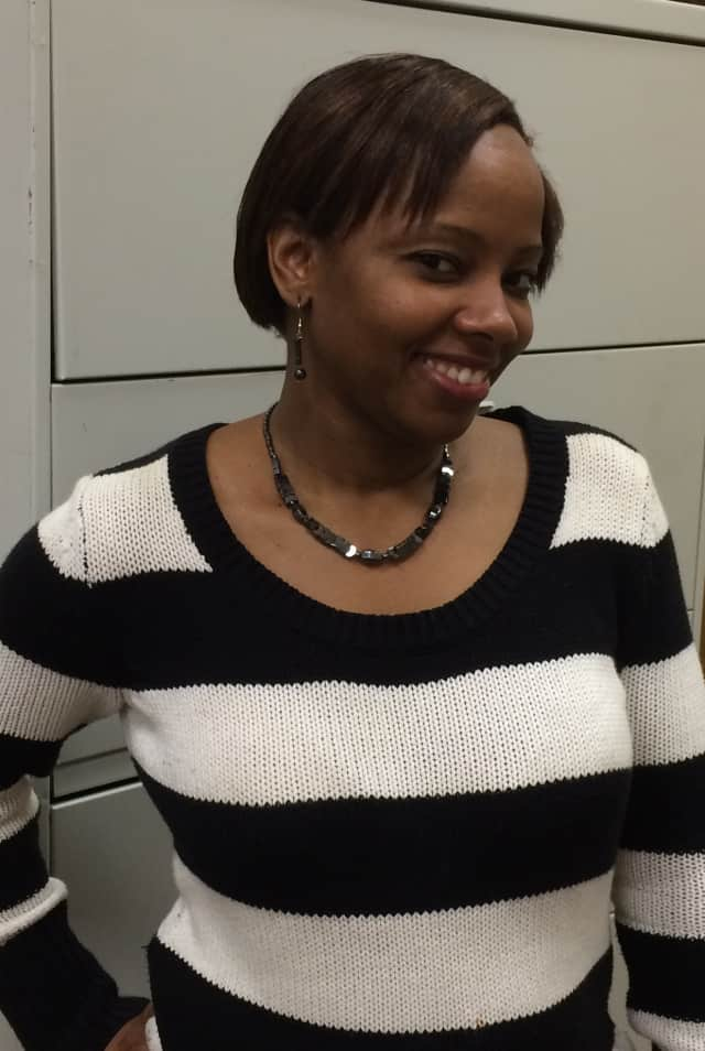 For Sasiann Shell from Yonkers, taking her two daughters (8 and 16) to work is an experience she takes advantage of whenever she can.