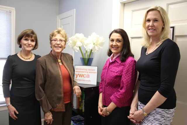 Pictured are 2014 YWCA Darien/Norwalk's Women of Distinction: Mary Genco, Patricia Phillips, Maryann Lehmann DDS and Jenny Schwartz. The awards luncheon on May 29 will honor six women.
