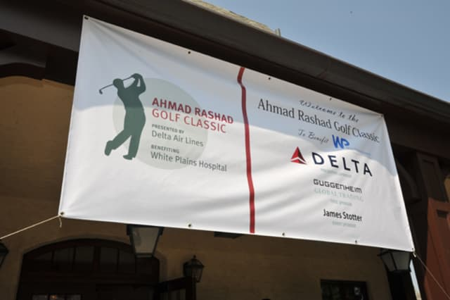 The Ahmad Rashad Golf Classic is set to take place this June to benefit White Plains Hospital.