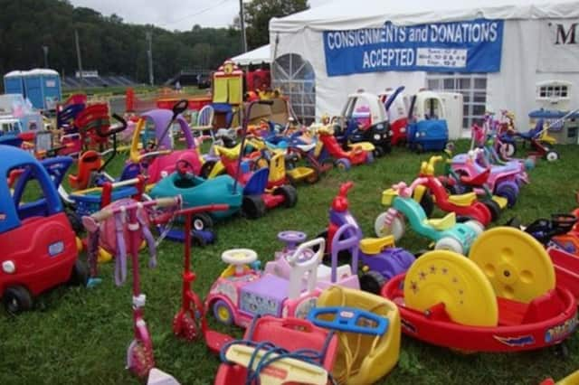 Children's toys are just some of the thousands of items available for sale during Wilton's Minks to Sinks sale this weekend.
