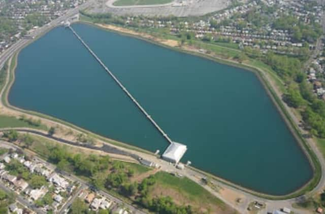 The New York City Department of Environmental Protection is testing its Emergency Notification System at Hillview Reservoir on Tuesday, May 6.