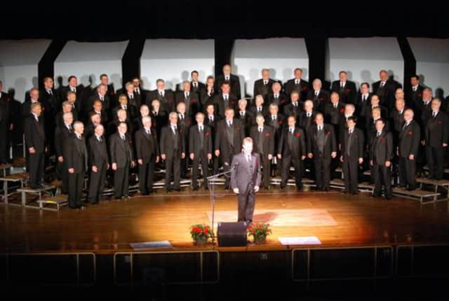 The Westchester Chordsmen chorus is coming to the Irvington High School auditorium in June.