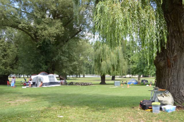 A colony of recreation vehicles has sprung up at Westchester County's Croton Point Park. Until recently, the encampment closed in December and reopened in March. RVers , some of them itinerant construction workers, are now living there year-round.