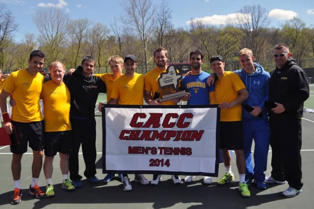 The Concordia men's tennis team advanced to the round of 16 in the NCAA tournament two years ago.