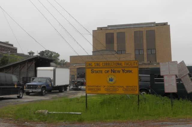 A 40-year-old Macedon, N.Y., woman has been arrested and charged with promoting prison contraband at Sing Sing Correctional Facility.