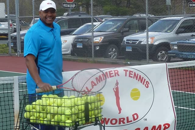 Marvin Tyler of Norwalk-based Slammer Tennis World is back on the court after a scary accident in the kitchen last summer left him with significant burns.