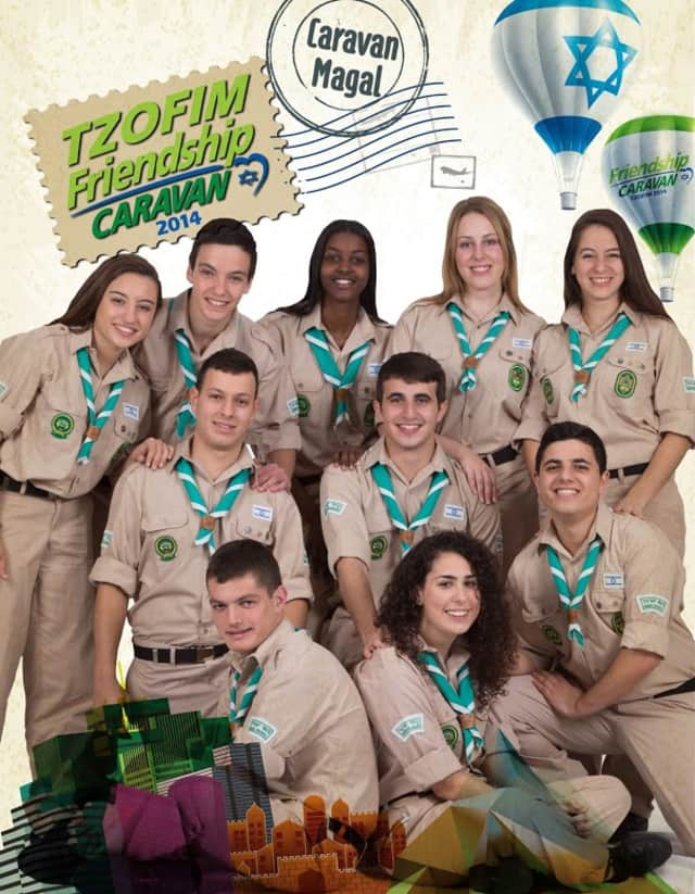 Israeli Scouts Tzofim will be in Bedford on June 6.