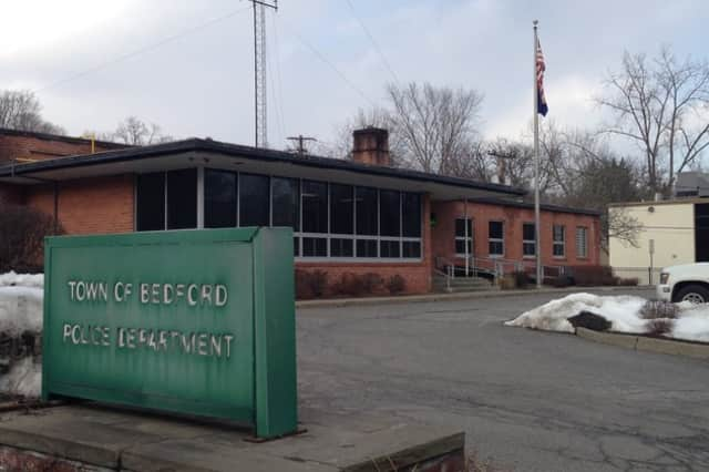 Bedford's police station was evacuated after a gas leak on Monday, May 19.