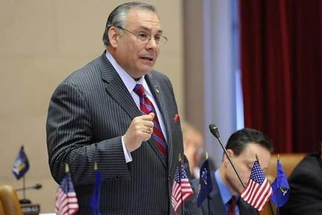 Robert Castelli, pictured when he served in the state Assembly, is running for state Senate.