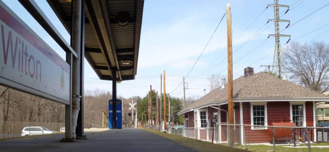 A new walkway will soon link the Wilton Train Station with Wilton Center.