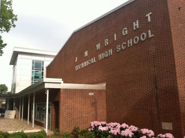 J.M. Wright Technical High School in Stamford