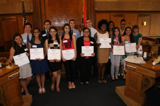 The winners of the 2014 Jandon Scholarship.