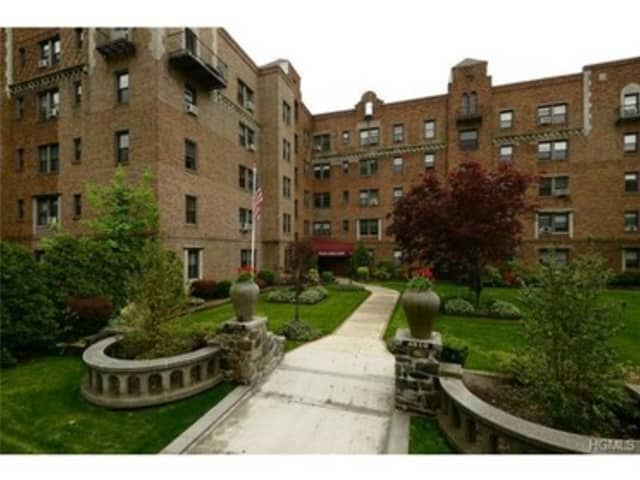 An apartment at 4810 Boston Post Road in Pelham is open for viewing this Saturday.