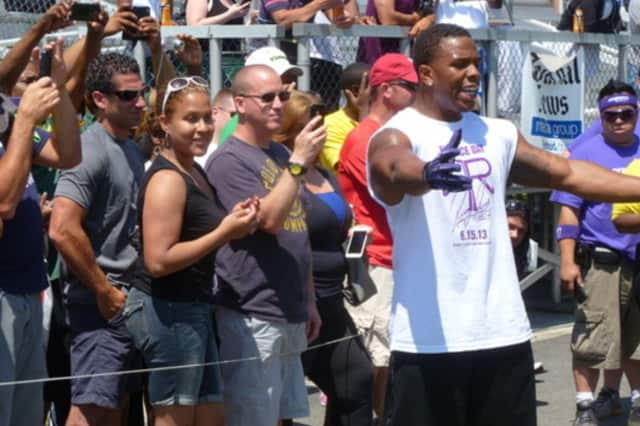 New Rochelle's Ray Rice is entering a pre-trial intervention program following the charges against him.