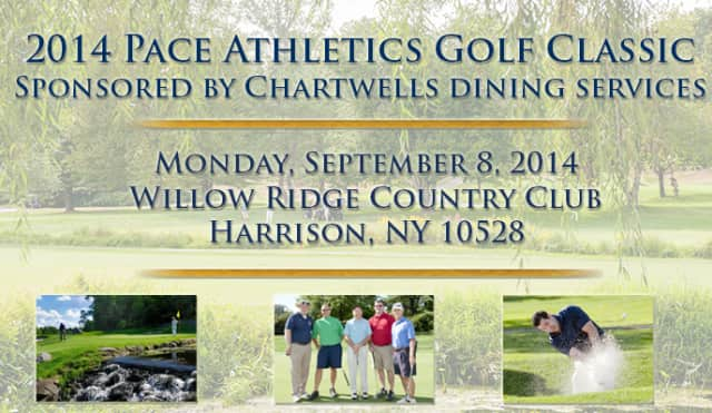 Support Pace University's athletics department at its 17th annual Golf Classic on Monday, Sept. 8.