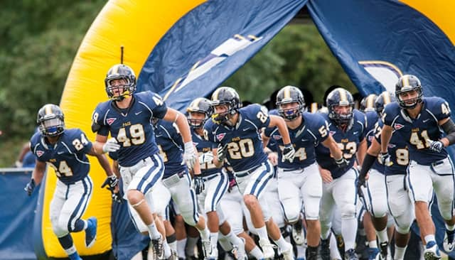 Pace University football coach Andrew Rondeau announces incoming recruits for the fall season.