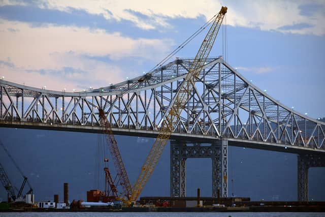 Scientists are conducting a study on two endangered species of sturgeon to ensure they are avoiding areas of construction around the Tappan Zee Bridge.