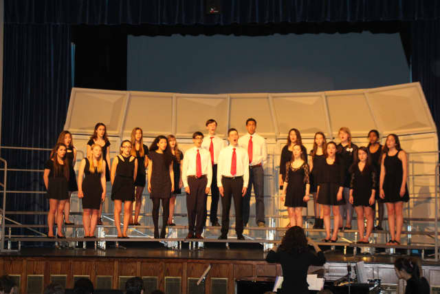 The Pelham Memorial High School Chorus and Orchestra both took home awards from the New York State School Music Association Majors Festival recently.