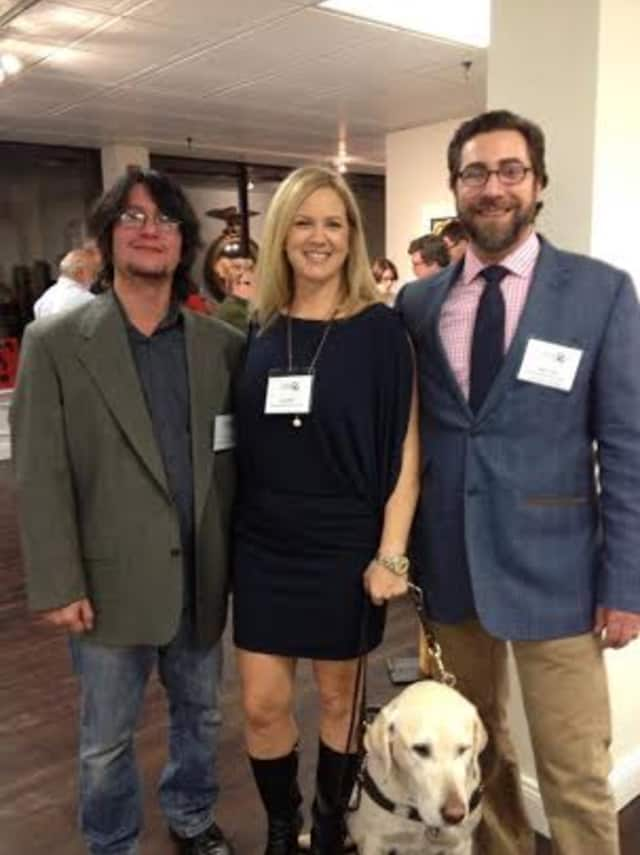 Nicholas Roberts Fine Wines employees (left to right) Juan Vega, Wine Specialist; Amy Dixon, resident Sommelier  and Peter Troilo, Managing Director, will be at wine tastings this weekend.