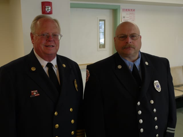 The Ridgefield Board of Selectmen unanimously approved new Fire Chief Kevin Tappe and Assistant Fire Chief Jerry Myers in a vote on Friday morning.
