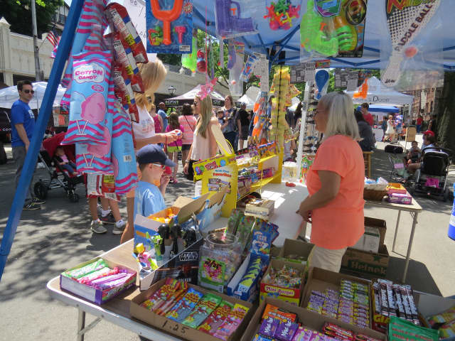 The Pelham Street Fair packed the village on Saturday.