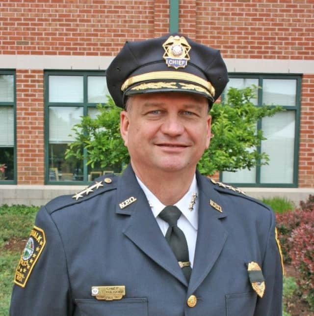 Norwalk Police Chief Thomas Kulhawik was recently honored with the 2014  Distinguished Chief Award from the Connecticut Association of Police Commissioners.