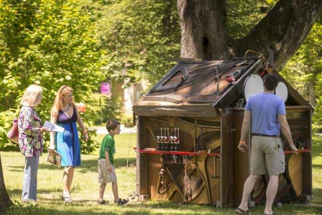 Caramoor Center For Music and the Arts' In The Garden Of Sonic Delights receives positive reviews from A Closer Listen.