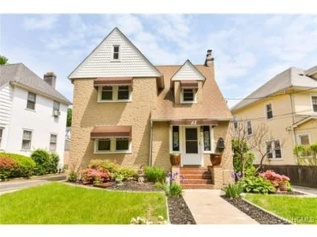 This house at 15 Mersereau Ave. in Mount Vernon is open for viewing on Saturday.