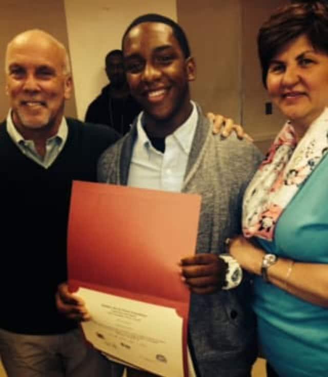 Nellie A. Thornton High School senior Jaime Fernandez received The Matthew Kevin Moore award.