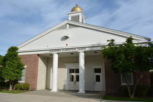 Lewisboro Elementary School, pictured in 2014.