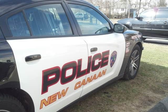 New Canaan Police charged a woman after she allegedly slapped her husband in the face on Sunday.