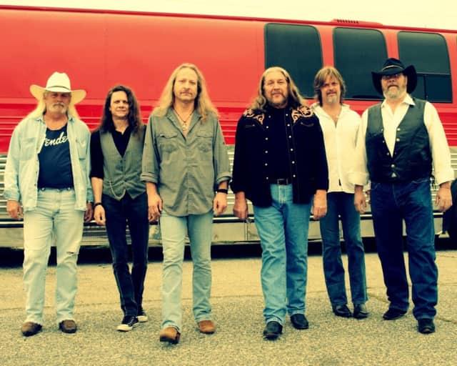 The Marshall Tucker Band will be performing in Peekskill Friday.