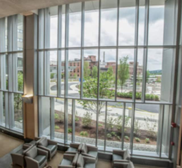 Danbury Hospital has opened a new 316,000-square-foot pavilion.
